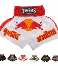 Twins Special Muay Thai Shorts Red Bull