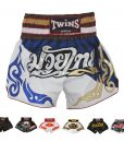 Twins Special Muay Thai Shorts T44 Scottish Blue