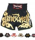 Twins Special Muay Thai Shorts TBS49 Black:Gold