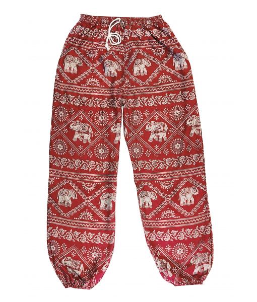 Elephant Pants Red