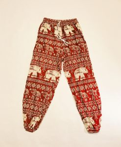 Red Elephant Pants v2