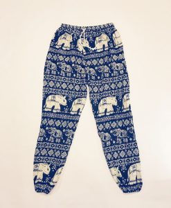 Dark Blue Elephant Pants v2